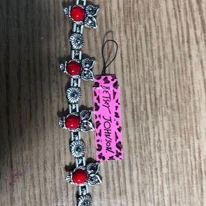 Betsey Johnson marcasite bracelet